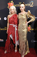 www.acepixs.com<br /> <br /> July 11 2017, LA<br /> <br /> Dove Cameron (L) and Sofia Carson arriving at the premiere of Disney Channel's 'Descendants 2' on July 11, 2017 in Los Angeles, California. <br /> <br /> By Line: Peter West/ACE Pictures<br /> <br /> <br /> ACE Pictures Inc<br /> Tel: 6467670430<br /> Email: info@acepixs.com<br /> www.acepixs.com