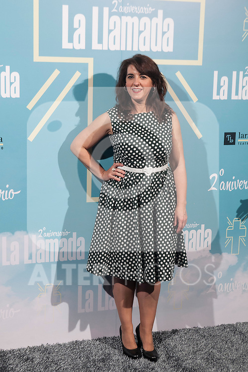 LLUM BARRERA attends La Llamada theater play in Madrid, Spain. April 15, 2015. (ALTERPHOTOS/Victor Blanco)