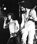 The Who 1973 Roger Daltrey and Pete Townshend.© Chris Walter.