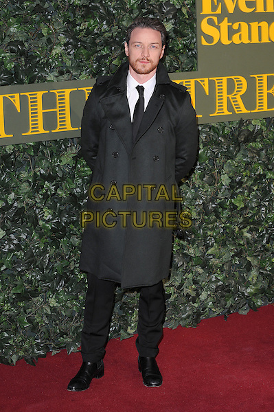 LONDON, ENGLAND - NOVEMBER 13: James McAvoy attends The London Evening Standard Theatre Awards at The Old Vic Theatre on November 13, 2016 in London, England.<br /> CAP/BEL<br /> &copy;BEL/Capital Pictures