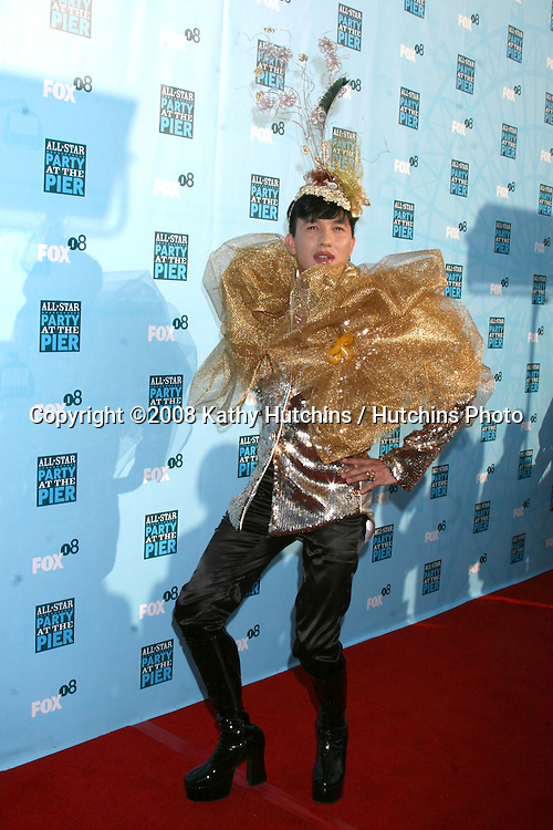 Bobby Trendy arriving at the Fox TV TCA Summer 08 Party at the Santa Monica Pier in Santa Monica, CA on.July 14, 2008.©2008 Kathy Hutchins / Hutchins Photo .