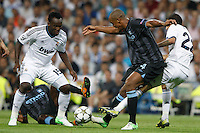 17.09.2012 SPAIN -  Champions League 12/13 Matchday 1th  match played between Real Madrid CF vs  Manchester City at Santiago Bernabeu stadium. The picture show Vincent Kompany (Defender of Manchester City)
