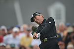 AUGUSTA, GA - APRIL 11: Gary Player tees off during the First Round of the 2013 Masters Golf Tournament at Augusta National Golf Club on April 10in Augusta, Georgia. (Photo by Donald Miralle) *** Local Caption ***