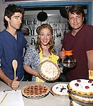 """Nathan Fillion visits Broadway's """"Waitress"""""""