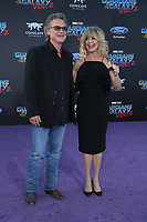"""19 April 2017 - Hollywood, California - Kurt Russell, Goldie Hawn. Premiere Of Disney And Marvel's """"Guardians Of The Galaxy Vol. 2"""" held at Dolby Theatre. Photo Credit: PMA/AdMedia"""