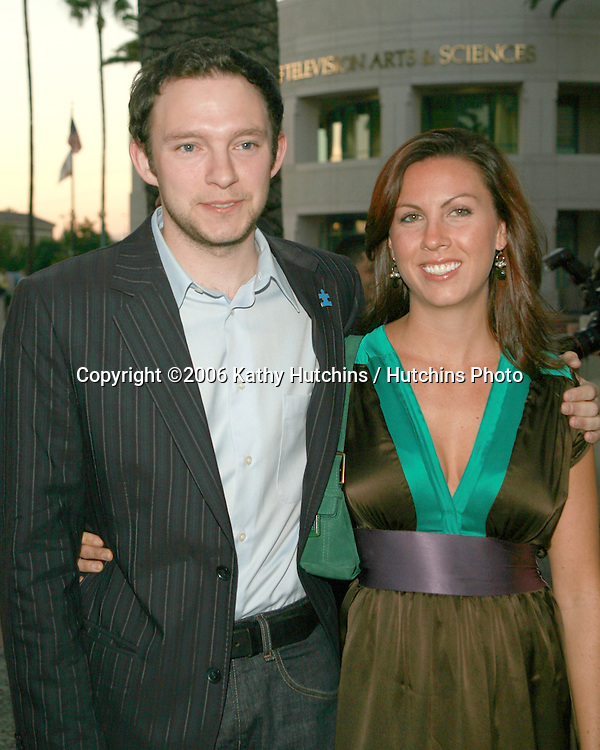Nathan Corddry & guest.Studio 60 On the Sunset Strip ATAS Panel.Academy of Television Arts and Sciences.No Hollywood, CA.September 25, 2006.©2006 Kathy Hutchins / Hutchins Photo....