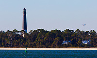 The Pensacola Lighthouse has a great view of the Naval Air Station. You can watch the Blue Angels practice from its gallery.<br /> <br /> <br /> <br /> COLIN HACKLEY PHOTO