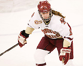 Taylor Wasylk (BC - 9) - The Boston College Eagles defeated the visiting St. Lawrence University Saints 6-3 (EN) in their NCAA Quarterfinal match on Saturday, March 10, 2012, at Kelley Rink in Conte Forum in Chestnut Hill, Massachusetts.