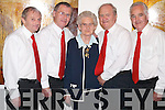 Family: Michael, John, Christie and Patrick Lynch, along with their mother, Teresa, originally from Mitchels Avenue, Tralee, and former members of the St Johns Gregorian Choir taking part in St Johns Jubilee Show at Siamsa Tire on Sunday evening..
