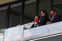 24th May 2020, Opel Arena, Mainz, Rhineland-Palatinate, Germany; Bundesliga football; Mainz 05 versus RB Leipzig; Stefan Hofmann (FSV Mainz 05) watches from the stands in protective mask