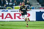 Solna 2014-03-31 Fotboll Allsvenskan AIK - IFK G&ouml;teborg :  <br /> AIK:s Niclas Eliasson <br /> (Foto: Kenta J&ouml;nsson) Nyckelord:  AIK Gnaget Solna IFK G&ouml;teborg Bl&aring;vitt portr&auml;tt portrait