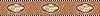 """6 1/2"""" Michel border, a hand-cut stone mosaic, shown in polished Rosa Verona, Botticino, Nero Marquina, Giallo Reale, Renaissance Bronze, Aegean Brown, Rosa Portagallo, Rosa Bordeaux, Rojo Alicante, and Travertine White."""