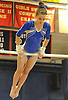 Haylie Kelly of Babylon performs on the uneven bars during the NYSPHSAA varsity gymnastics state championship meet at Cold Spring Harbor High School on Saturday, March 3, 2018.