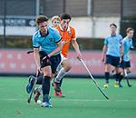 BLOEMENDAAL  -  Mart Leempoel met Kiet Citroen,  competitiewedstrijd junioren  landelijk  Bloemendaal JA1-Nijmegen JA1 (2-2) .   COPYRIGHT KOEN SUYK