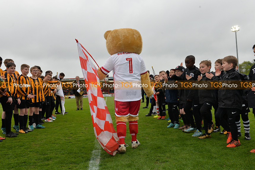 Boro bear during Stevenage vs Exeter City, Sky Bet EFL League 2 Football at the Lamex Stadium on 28th April 2018