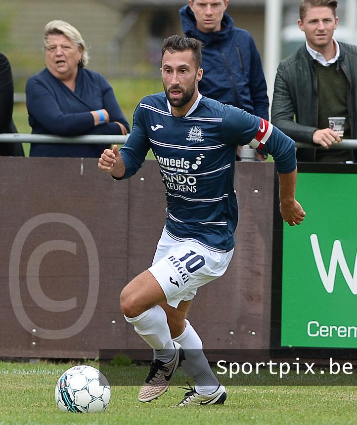 KVC Wingene : Aaron Bruning<br /> Foto David Catry | VDB | Bart Vandenbroucke