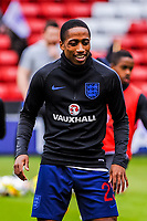 Tottenham Hotspur's defender Kyle Walker-Peters (23) for England U21's during the International Euro U21 Qualification match between England U21 and Ukraine U21 at Bramall Lane, Sheffield, England on 27 March 2018. Photo by Stephen Buckley / PRiME Media Images.