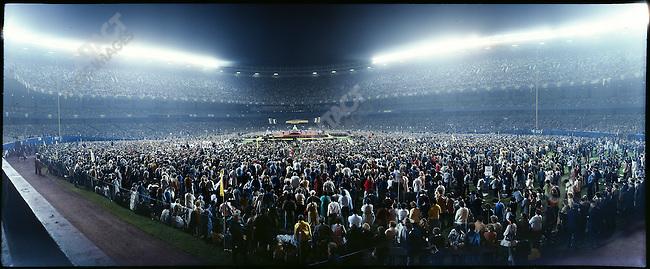 Mass at Yankee Stadium, New York City, USA, October 2, 1979