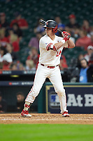 Lael Lockhart Jr. (24) of the Houston Cougars at bat against the Kentucky Wildcats in game two of the 2018 Shriners Hospitals for Children College Classic at Minute Maid Park on March 2, 2018 in Houston, Texas.  The Wildcats defeated the Cougars 14-2 in 7 innings.   (Brian Westerholt/Four Seam Images)