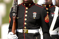US MARINE CORPS, US MARINES.  No model release, for editorial use only. Funeral for Marine at San Bruno CA National Cemetary. No model releases available. Funeral for Marine at San Bruno CA National Cemetary.  No model releases.
