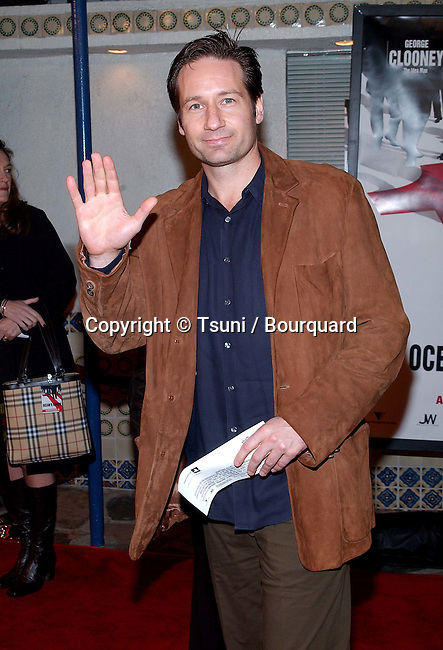 David Duchovny  arriving at the Ocean Eleven premiere at the Mann's Village Theatre in Westwood, Los Angeles. December 15, 2001.           -            DuchovnyDavid01.jpg