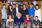Gerry Cunningham Killarney celebrates his 70th birthday with his family and friends in the Castlerosse Hotel Killarney on Saturday night front row l-r: Kirstin, Gerry, Marian, Callum Cunningham. Back row: Mick Cunningham, Elizabeth Davies, Richard, Sara, Dan, Sarah Cunningham