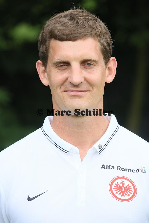 Reha-Trainer Michael Fabacher (Eintracht Frankfurt)
