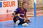 League LNFS 2018/2019.<br /> Play Off. Game: 5.<br /> FC Barcelona Lassa vs El Pozo Murcia: 3-2.<br /> Ferrao.