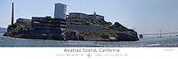 Alcatraz island with Latitude and Longitude