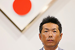 Hiroki Kokubo (JPN), OCTOBER 9, 2013 - Baseball : WBC Japanese Baseball team new head coach Hiroki Kokubo attends his first news conference in Tokyo, Japan. Hiroki Kokubo was appointed Japanese head coach for World Baseball Classic games. (Photo by Yusuke Nakanishi/AFLO SORT)