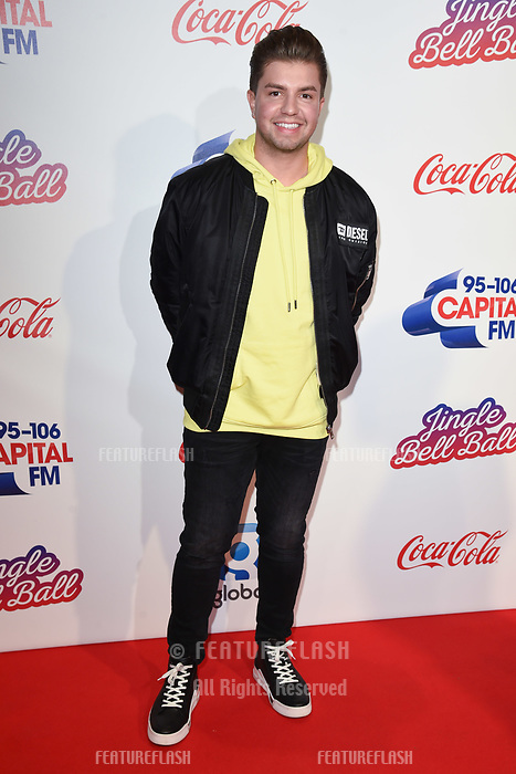 LONDON, UK. December 08, 2018: Sonny Jay at Capital&rsquo;s Jingle Bell Ball 2018 with Coca-Cola, O2 Arena, London.<br /> Picture: Steve Vas/Featureflash