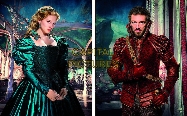 Lea Seydoux, Vincent Cassel<br /> in Beauty and the Beast (2014) <br /> (La belle et la bete)<br /> *Filmstill - Editorial Use Only*<br /> CAP/NFS<br /> Image supplied by Capital Pictures