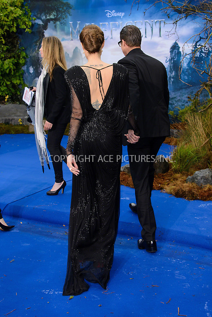 ACEPIXS.COM<br /> <br /> May 8 2014, London<br /> <br /> Angelina Jolie at a private reception as costumes and props from Disney's 'Maleficent' are exhibited in support of Great Ormond Street Hospital at Kensington Palace on May 8, 2014 in London<br /> <br /> By Line: Famous/ACE Pictures<br /> <br /> ACE Pictures, Inc.<br /> www.acepixs.com<br /> Email: info@acepixs.com<br /> Tel: 646 769 0430