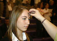 Ash Wednesday All School Mass 2-25-09