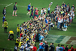 Fiji vs new Zealand during the HSBC Sevens Wold Series Cup Final match as part of the Cathay Pacific / HSBC Hong Kong Sevens at the Hong Kong Stadium on 29 March 2015 in Hong Kong, China. Photo by Juan Manuel Serrano / Power Sport Images