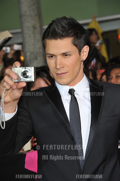 "Alex Meraz at the world premiere of his new movie ""The Twilight Saga: New Moon"" at Mann Village & Bruin Theatres, Westwood..November 16, 2009  Los Angeles, CA.Picture: Paul Smith / Featureflash"