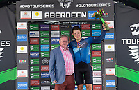 Picture by Allan McKenzie/SWpix.com - 17/05/2018 - Cycling - OVO Energy Tour Series Mens Race Round 3:Aberdeen - Harry Tanfield takes the Eisberg Sprints round winner award.