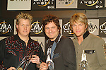 Rascal Flatts - Vocal Group.at the 38th CMA (Country Music Association) in Nashville, Nov 9th, 2004. Photos by Chris Walter.