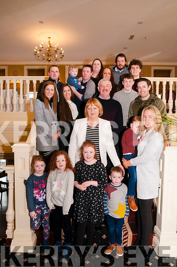 Special Birthday : Mary McKenna, Lixnaw celebrating her special birthday with family at the Listowel Arms Hotel on Saturday afternoon last.