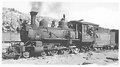 RGS 4-6-0 #20 at Dolores.<br /> RGS  Dolores, CO  Taken by Richardson, Robert W. - 10/1945