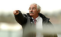 15/04/2006         Copyright Pic: James Stewart.File Name : sct_jspa07_falkirk_v_dunfermline.JIM LEISHMAN DURING THE GAME AGAINST FALKIRK... Payments to :.James Stewart Photo Agency 19 Carronlea Drive, Falkirk. FK2 8DN      Vat Reg No. 607 6932 25.Office     : +44 (0)1324 570906     .Mobile   : +44 (0)7721 416997.Fax         : +44 (0)1324 570906.E-mail  :  jim@jspa.co.uk.If you require further information then contact Jim Stewart on any of the numbers above.........
