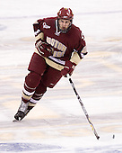 Andrew Orpik (BC - 27) - The Boston College Eagles defeated the University of Vermont Catamounts 4-0 in the Hockey East championship game on Saturday, March 22, 2008, at TD BankNorth Garden in Boston, Massachusetts.