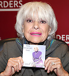 "Carol Channing Signing her new CD Release ""For Heaven's Sake"" on World Aids Day at Borders Columbus Circle in New York City on December 1, 2010"