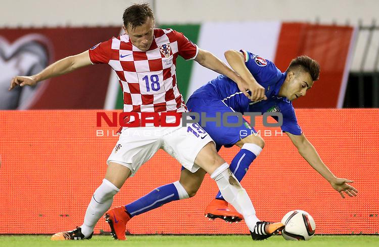 12.06.2015., Croatia, stadium Poljud, Split - Qualifying match for the European Championship to be held in 2016 in France, Group H, Round 6, Croatia - Italy. Ivica Olic.<br /> Photo: Igor Kralj/PIXSELL;