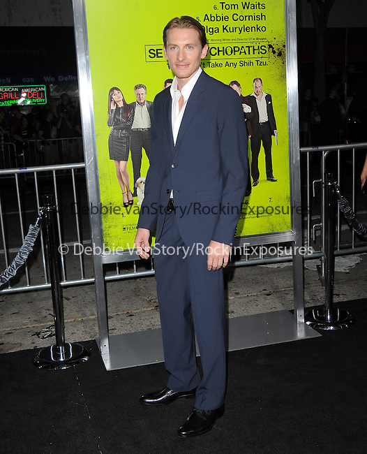 James Hebert at The CBS Films L.A. Premiere of Seven Psychopaths Premiere held at The Bruin Theatre in Westwood, California on October 01,2012                                                                               © 2012 Hollywood Press Agency