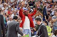 NBA Toronto Raptors's player Serge Ibaka during semi finals of playoff Liga Endesa match between Real Madrid and Unicaja Malaga at Wizink Center in Madrid, June 02, 2017. Spain.<br /> (ALTERPHOTOS/BorjaB.Hojas) /NortePhoto.com