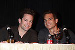 "Young & Restless Michael Muhney and Greg Rikaart at Meet & Greet wine tasting event a part of the Soap Opera Festivals Weekend - ""All About The Drama"" on March 24, 2012 at Bally's Atlantic City, Atlantic City, New Jersey.  (Photo by Sue Coflin/Max Photos)"
