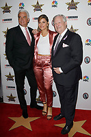 LOS ANGELES - FEB 29:  John O'Hurley, Maria Menounos, David Frei at the Beverly Hills Dog Show Presented by Purina at the LA County Fairplex on February 29, 2020 in Pomona, CA