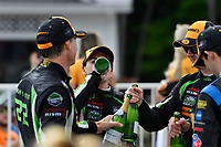 IMSA WeatherTech SportsCar Championship<br /> Continental Tire Road Race Showcase<br /> Road America, Elkhart Lake, WI USA<br /> Sunday 6 August 2017<br /> 22, Nissan DPi, P, Johannes van Overbeek, Luis Felipe Derani, 2, Nissan DPi, P, Scott Sharp, Ryan Dalziel, 10, Cadillac DPi, P, Ricky Taylor, Jordan Taylor<br /> World Copyright: Richard Dole<br /> LAT Images<br /> ref: Digital Image RD_RA_2017_168