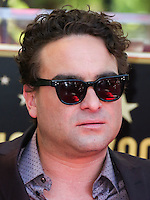 HOLLYWOOD, LOS ANGELES, CA, USA - OCTOBER 29: Johnny Galecki at the ceremony honoring Kaley Cuoco with a star in the Hollywood Walk Of Fame on October 29, 2014 in Hollywood, Los Angeles, California, United States. (Photo by Xavier Collin/Celebrity Monitor)